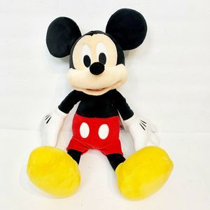 Disney Store Mickey Mouse Plush Stuffed Animal 18""
